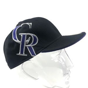 Colorado Rockies New Era Fitted Baseball Hat 7 1/4